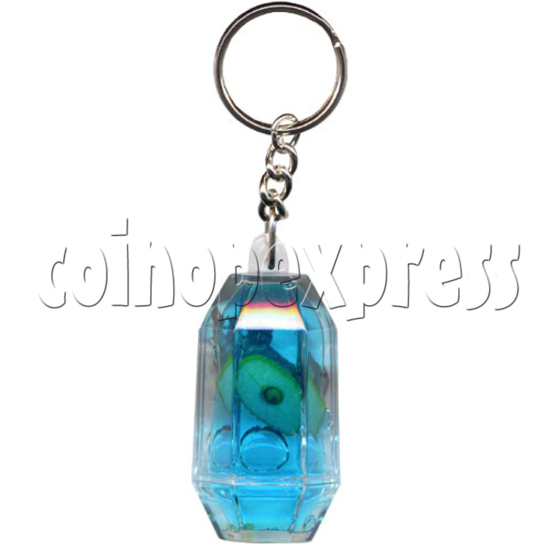 Colorful Liquid Key Rings 9832