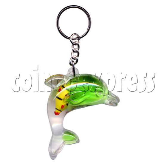 Colorful Liquid Key Rings 9833